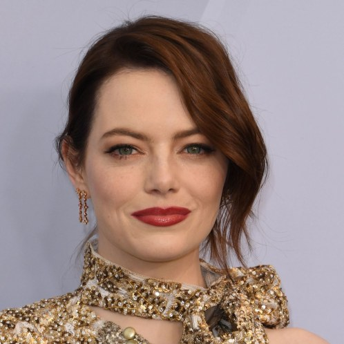 emma stone close up